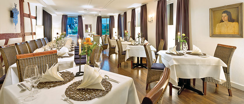 Ganter Hotel Mohren, dining room, Lake Constance, Germany.jpg